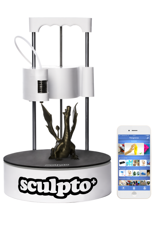 Sculpto 3D printer - Make your ideas come to life!