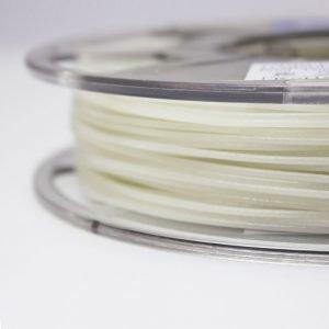 Luminous green filament