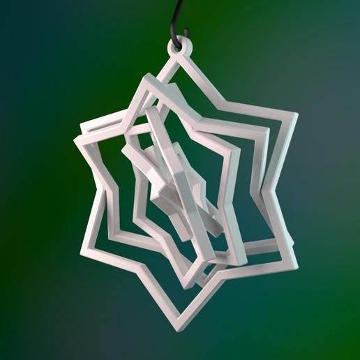 3D printed Christmas ornament