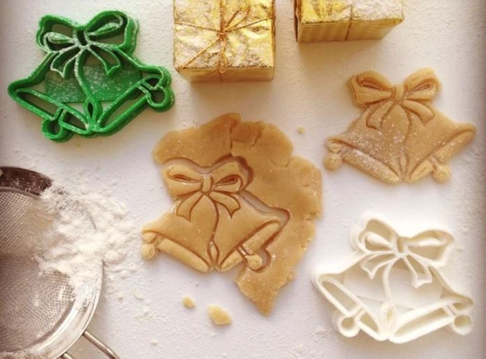3D printed Christmas cookie cutter
